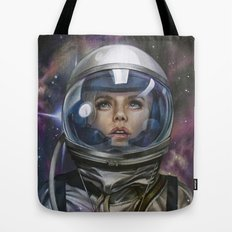 Astro Girl Tote Bag