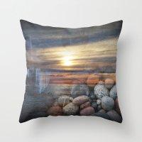 Lake Superior Memories Throw Pillow