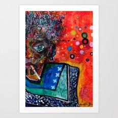 Olt Art Print