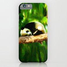Baby Panda Resting - Painting Style iPhone 6 Slim Case
