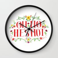 Oh No Wall Clock