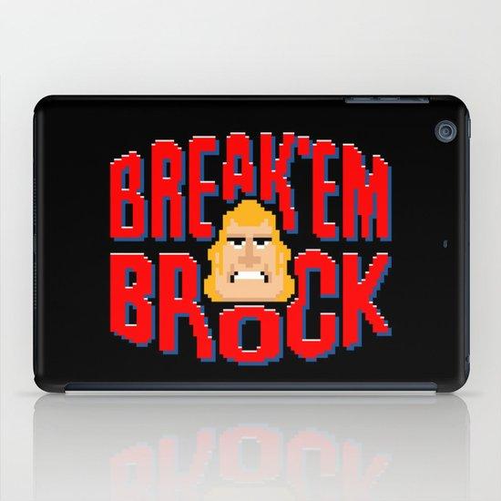 Break'em Brock iPad Case