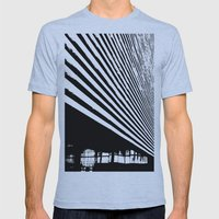 Stripes Mens Fitted Tee Athletic Blue SMALL