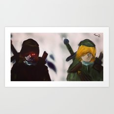 A Link to the Link Art Print
