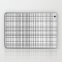 Weave Black And White Laptop & iPad Skin