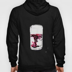 Ink diluted in water Drawing Hoody