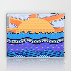 Sun on the Horizon Laptop & iPad Skin