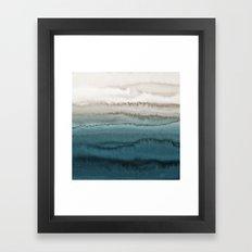 WITHIN THE TIDES - CRASHING WAVES Framed Art Print