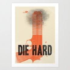Die Hard Art Print