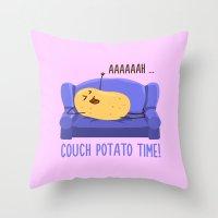 Good Times! Throw Pillow