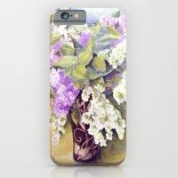 Lilacs bouquet iPhone 6 Slim Case