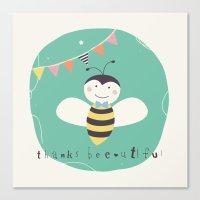 Boris Bee Canvas Print