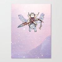 Snow Troll Canvas Print