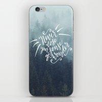 Never Lose  iPhone & iPod Skin