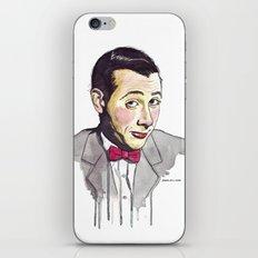 Pee Wee iPhone & iPod Skin