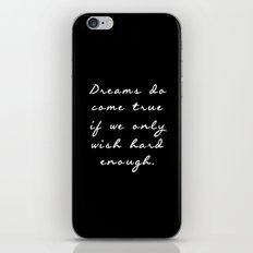 Dreamers  iPhone & iPod Skin