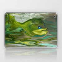 Smilen Sam The Fish...For Kids Laptop & iPad Skin