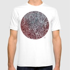 Networks Mens Fitted Tee White SMALL