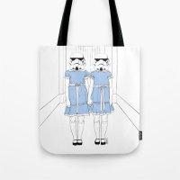 Grady Twins Troopers Tote Bag
