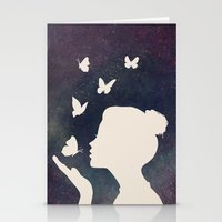 Bisou Papillon Revisited Stationery Cards