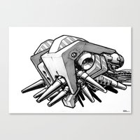 Machine Object II Canvas Print