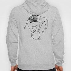 Circus Elephant Hoody