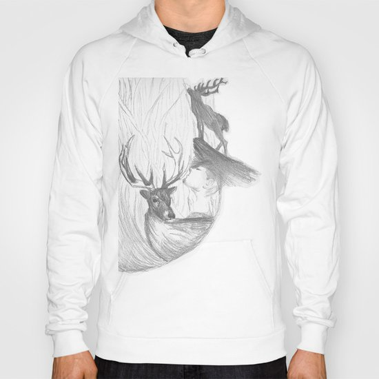 Stag and man Hoody