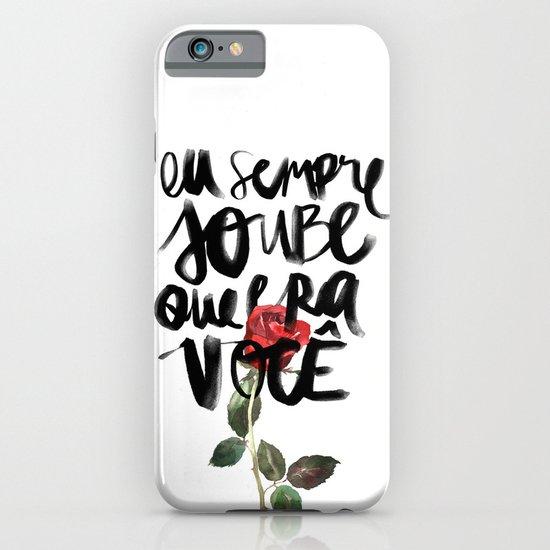 Você iPhone & iPod Case
