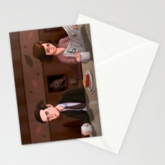 Twin Peaks Diner Stationery Cards