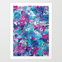 Floral Maze Art Print