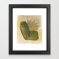 Be Seated Framed Art Print