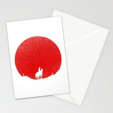 The Rising Sunset Stationery Cards