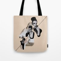 Interlaying Tote Bag