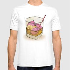 Pickle Pigs Too Mens Fitted Tee White SMALL