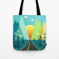 the Long Road Tote Bag
