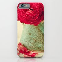 Red Petals iPhone 6 Slim Case