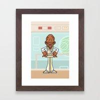 EP6 : Admiral Ackbar Framed Art Print