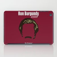 Ron Burgundy: Anchorman iPad Case