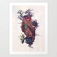 Regrowth Art Print