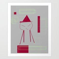 ERP Art Print