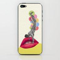I Wanna Kiss You iPhone & iPod Skin