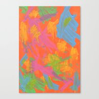 Abstract 161 Canvas Print