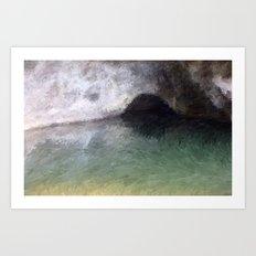 Kaua'i Cave Art Print