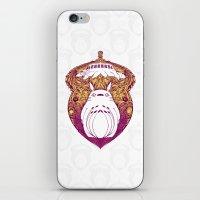 Forest Spirit Victoriana iPhone & iPod Skin