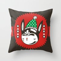 Green Remy Throw Pillow