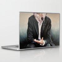 rabbit Laptop & iPad Skins featuring the politician by karien deroo