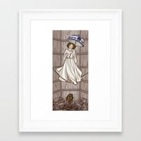 Leia's Corruptible Mortal State Framed Art Print