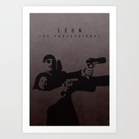LÉON: THE PROFESSIONAL Art Print