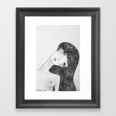 Patterns in my soul Framed Art Print