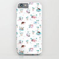 Summer houses iPhone 6 Slim Case